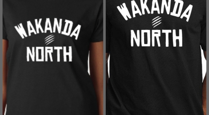 Wakanda North Fitted T's